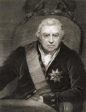 Sir Joseph Banks (1743-1820) Baronet of Banks, from 'Gallery of Portraits', published in 1833 (engra