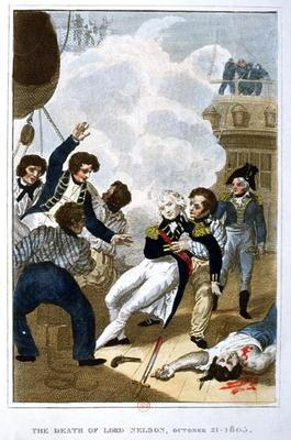 The Death of Lord Nelson (1758-1805) on 21st October 1805