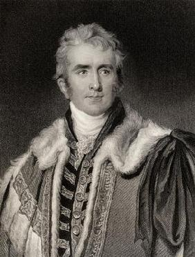 William Pitt Amherst (1773-1857) Earl of Arracan (litho)