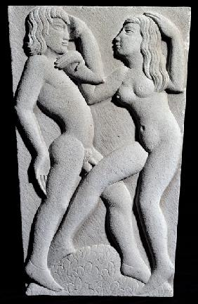 Dancing Couple (stone)