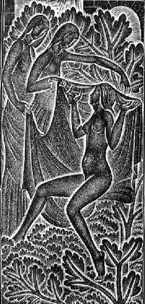 ''I am Black but Comely'' (Nigra Sum Sed Formosa) illustration from ''The Song of Songs'' (Canticum