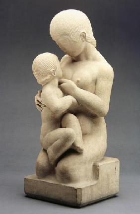 Madonna and Child, 1913 (Bath stone)