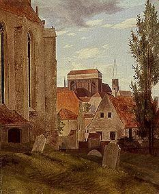 Oehme, Ernst Ferdinand : The Meissener cathedral.