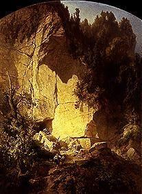 Oehme, Ernst Ferdinand : Quarry in Saxon Switzerlan...