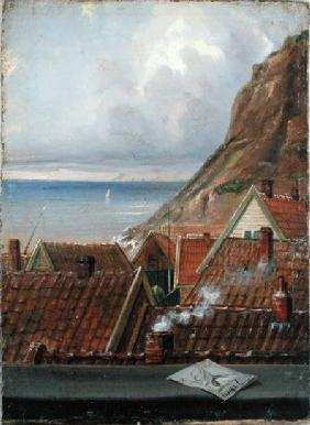 View from a Window of Helgoland
