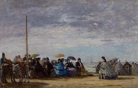 Boudin, Eug�ne : The beach