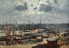 Boudin, Eug�ne : The Port of Bordeaux