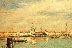 Boudin, Eug�ne : View of Venice