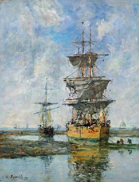 Boudin, Eug�ne : The Large Ship