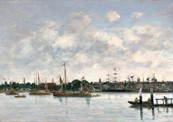 Boudin, Eug�ne : The Meuse at Dordrecht