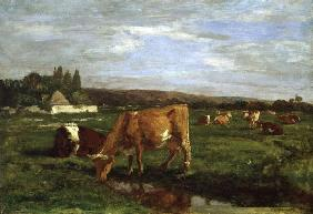 Boudin, Eug�ne : The Valley of the Touques