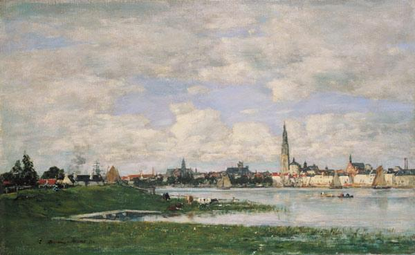 Boudin, Eug�ne : Look on Antwerp