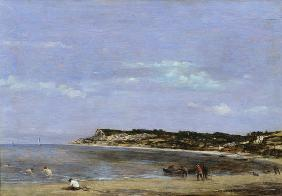 Boudin, Eug�ne : The Coast at La Heve