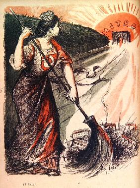 The Broom from ''L''Assiette Au Beurre'', pub. 10th Jan 1903 (litho)