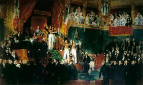 Louis-Philippe I is sworn in as king before the Chamber of Deputies, 9th August 1830
