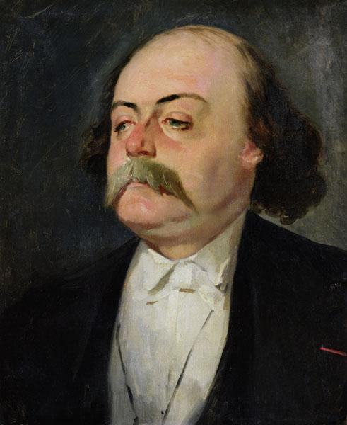Portrait of Gustave Flaubert (1821-80)