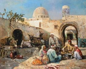 Pavy, Eug�ne : In an Arabian court