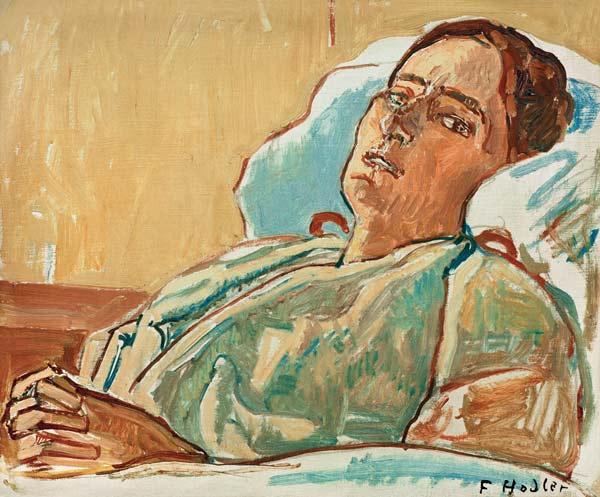 Valentine Gode Darel Ferdinand Hodler As Art Print Or