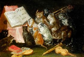 A Musical Gathering of Cats