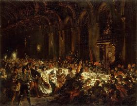 Delacroix, Ferdinand Victor Eug�ne : The Assassination of the B...