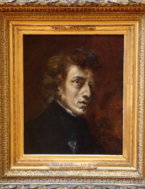 Portrait of Fr�d�ric Chopin