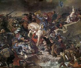 The battle of Taillebourg on July 21st, 1242.