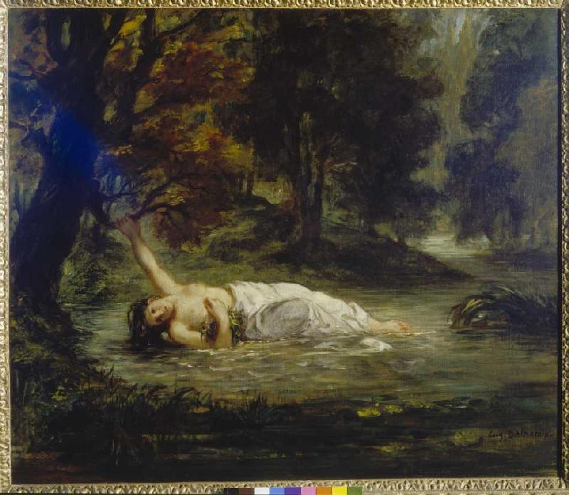 the death and madness of ophelia Ophelia and the feminine construct if ophelia's death was so it is an apt supposition that ophelia's madness begins when she.