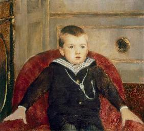 Portrait Henri de Woelmont as a child.