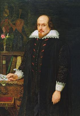 Portrait of William Shakespeare (1564-1616)