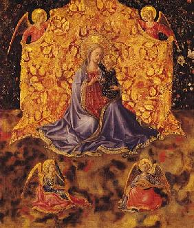 Madonna of Humility with Christ Child and Angels
