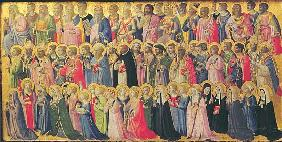 The Forerunners of Christ with Saints and Martyrs, 1423-24 (egg tempera on wood)