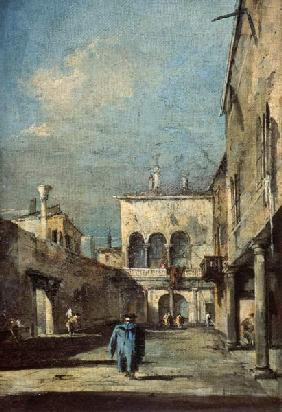 Guardi, Francesco : Szene in Venedig