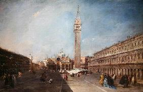 Piazza San Marco (oil on canvas)
