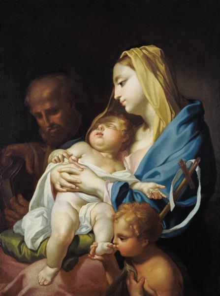 The Holy Family with the Johannesknaben
