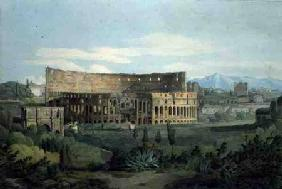 The Colosseum from the Caelian Hills, 1799 (pen