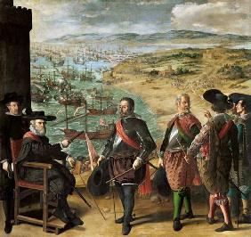 The Defence of Cadiz against the English