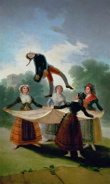 El Pelele The Puppet Francisco Jos 233 De Goya As Art