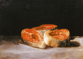 Still-life with salmon