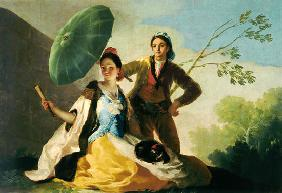 de Goya, Francisco Jos� : The Parasol