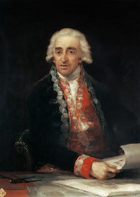 Portrait of the Juan de Villanueva.