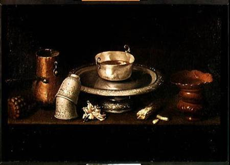 Still Life With A Bowl Of Chocolate Or Francisco