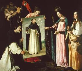 The Apparition of the Virgin to the Monk of Soriano