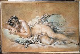 Boucher, Fran�ois : Sleeping young woman