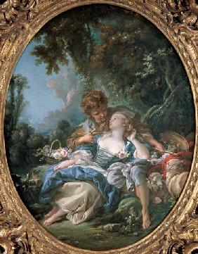 Boucher, Fran�ois : Lovers' tryst