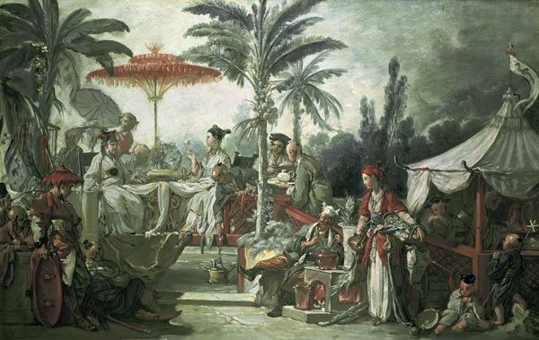 Boucher, Fran�ois : Chinese Emperors Feast