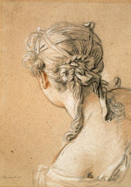 Head of a Girl from Behind