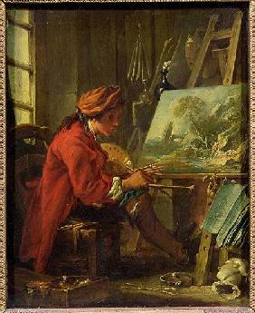 Boucher, Fran�ois : The Painter in his Studio