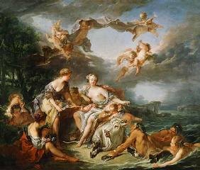 Boucher, Fran�ois : The Rape of Europa