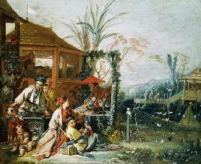 Boucher, Fran�ois : The Chinese Hunt