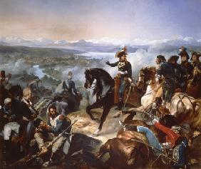 Bouchot, Francois : The Battle of Zurich, 25th...